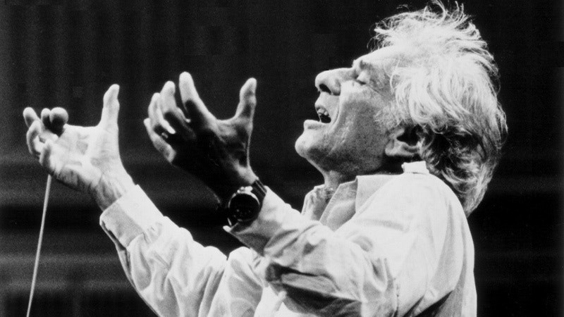 Leonard Bernstein By Paul De Hueck Courtesy Of The Leonard Bernstein Office